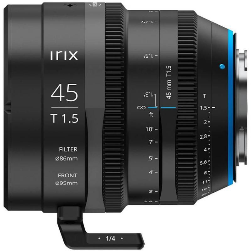 Objectif vidéo Irix Cine 45mm T1.5 pour Sony E (métrique)