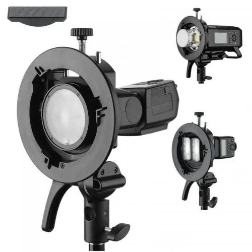 Godox S2 Support universel monture S pour flashs Godox