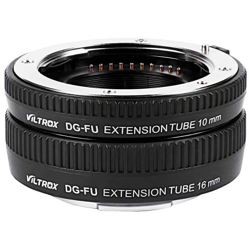 Tubes d'extension pour Fuji X Viltrox DG-FU 10mm+16mm Autofocus