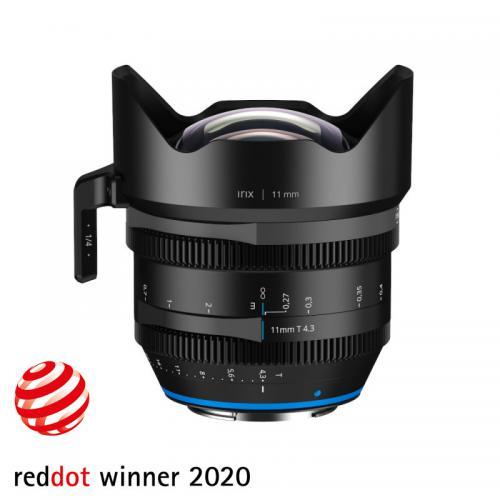 Objectif vidéo grand angle Irix Cine 11mm T4.3 pour Canon - Metric