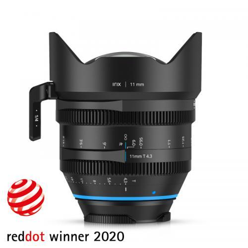 Objectif vidéo grand angle Irix Cine 11mm T4.3 pour Canon - version impériale
