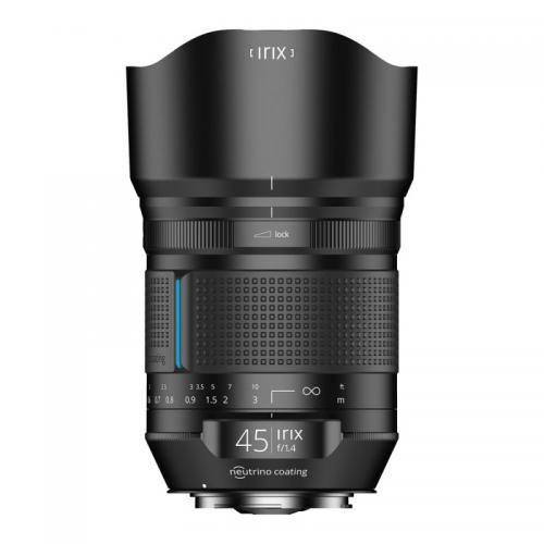 Objectif photo plein format Irix 45mm Dragonfly pour Nikon