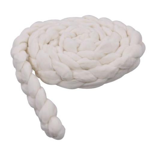 Newborn Mohair Wool Nest Cream MWNC 300 x 6 cm