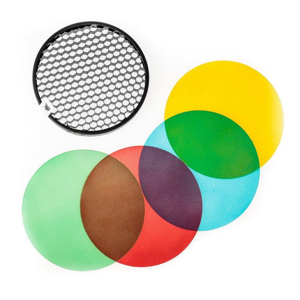 Gélatines et filtres de couleurs pour flashs