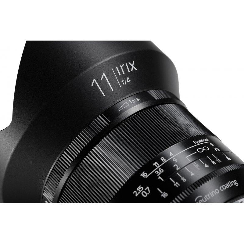 Irix Blackstone objectif 11 mm f/4.0 pour Canon EF