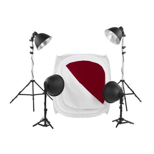 Le kit de photographie de produit professionnelle Quadralite  LH-40