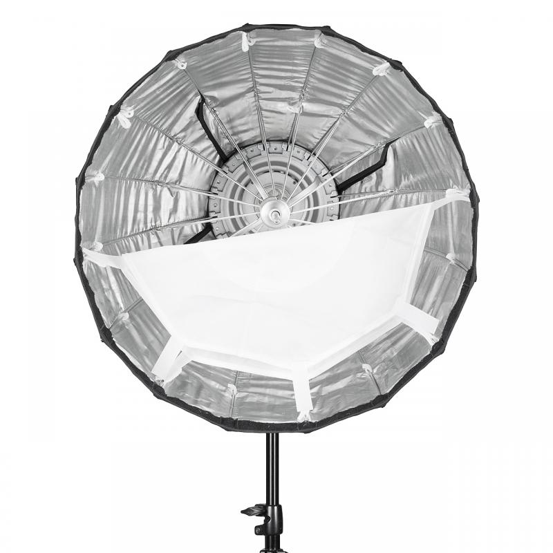 Softbox Quadralite Hexadecagon 50 cm