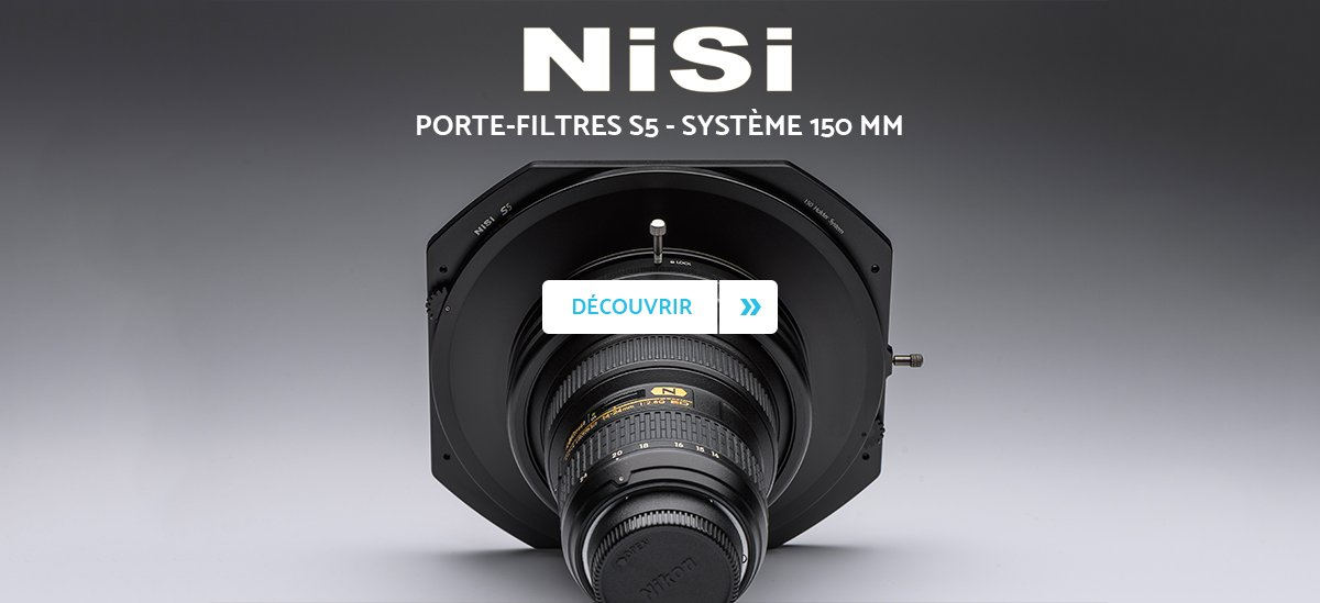 Nisi S5 porte-filtres