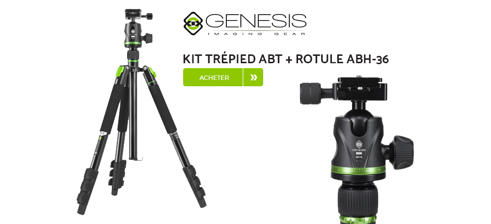 Kit trépied ABT genesis base