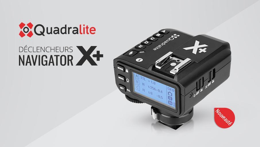 Nouveau déclencheur Quadralite pour flash Godox et Quadralite